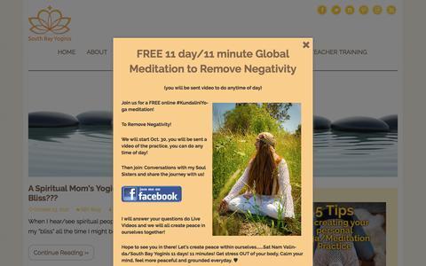 Screenshot of Blog southbayyoginis.com - Blog - South Bay Yoginis - captured Nov. 8, 2017