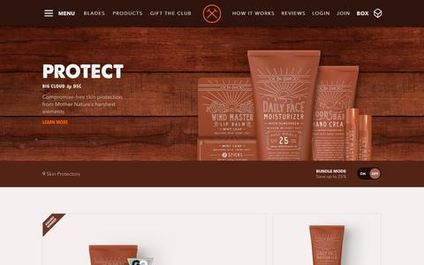 Big Cloud Men's Skin Care Products | Dollar Shave Club