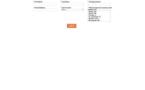 Screenshot of Landing Page mapr.com captured March 31, 2016