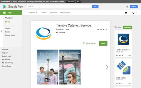 Trimble Catalyst Service - Android Apps on Google Play