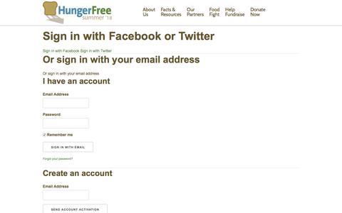 Screenshot of Login Page nationbuilder.com - Sign in - captured July 24, 2018