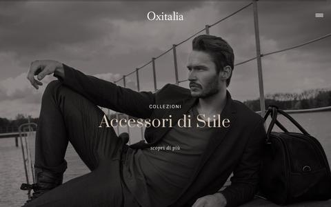 Screenshot of Home Page oxitalia.com - Home - Oxitalia - captured Nov. 19, 2018