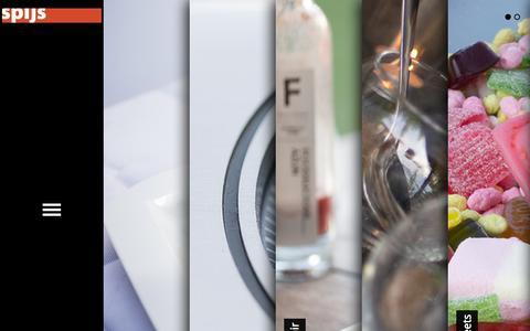 Screenshot of Home Page spijs.cc - Spijs | - captured Oct. 9, 2014