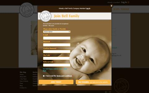 Screenshot of Login Page bellfamilycompany.com - Bell Family Company - captured Feb. 6, 2016