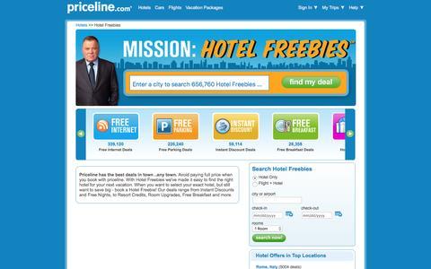 Hotel Freebies : Hotel Deals & Discounts | Priceline.com