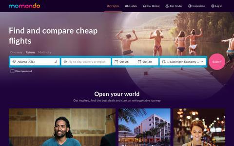 Cheap Flights - Search and Compare Flights | momondo
