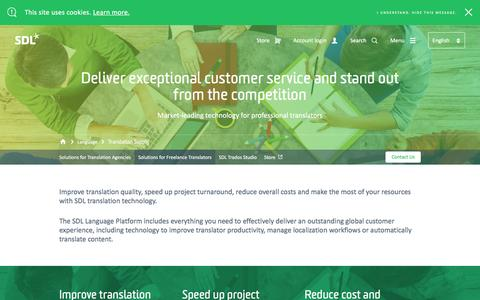 Language Service Providers | SDL