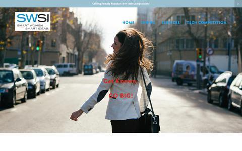 Screenshot of Signup Page swsimedia.com - Sign up — SWSI: Smart Women. Smart Ideas. - captured Oct. 3, 2017