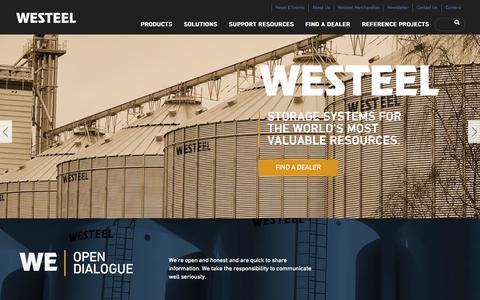 Screenshot of Privacy Page westeel.com - Westeel - captured Oct. 7, 2014