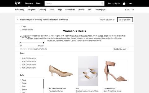 Heels | High Heels, Pumps & Platform Heels | Lyst