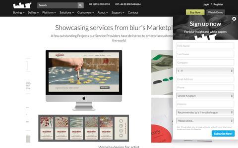 Service Providers Showcase | blur Group