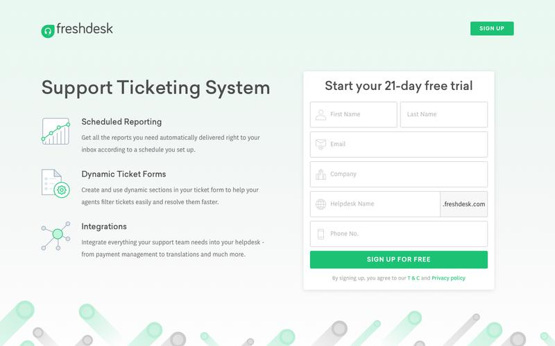 Freshdesk Support Ticketing Software   Start supporting customers for FREE