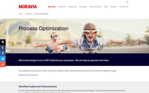 Process Optimization - Moravia