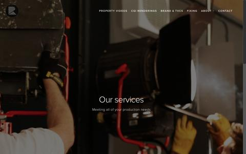 Film Production Services London – River Film