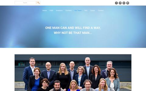 Screenshot of Team Page treeway.nl - Our Team | Treeway - captured Oct. 20, 2018