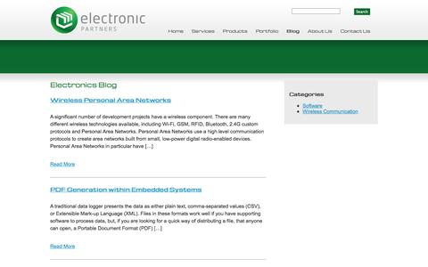 Screenshot of Blog elex.co.nz - Electronics Blog | Electronic Partners - captured Oct. 2, 2014