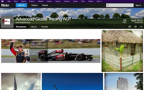 Screenshot of Flickr Page flickr.com - Flickr: advancedglobaltrading's Photostream - captured Oct. 23, 2014