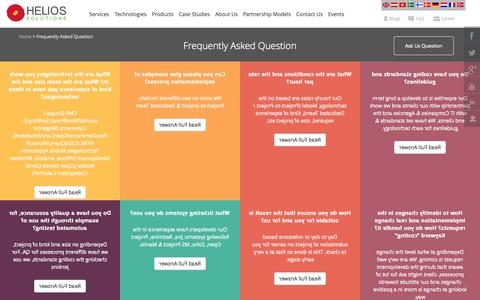 Screenshot of FAQ Page heliossolutions.in - Frequently Asked Question - Helios India - captured Sept. 25, 2014