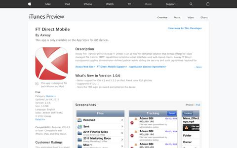 FT Direct Mobile on the App Store