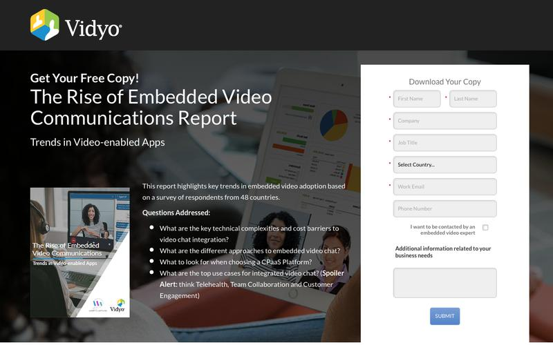 Embedded Video Chat Trend Report