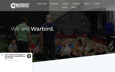 Screenshot of About Page warbirdacademy.com - About | Warbird Academy - captured Oct. 7, 2018