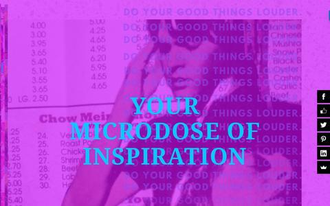 Screenshot of Blog creativeenabler.com - Microdose of Inspiration • Creative Enabler - captured Nov. 5, 2018