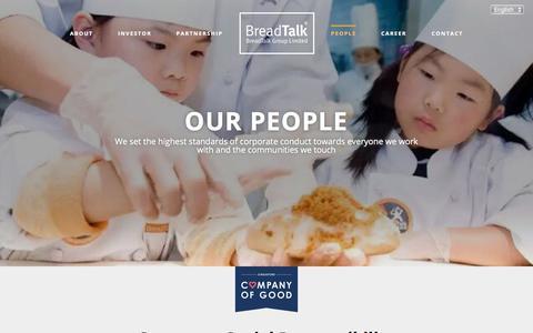 Screenshot of Team Page breadtalk.com - BreadTalk Group - People - captured June 26, 2017
