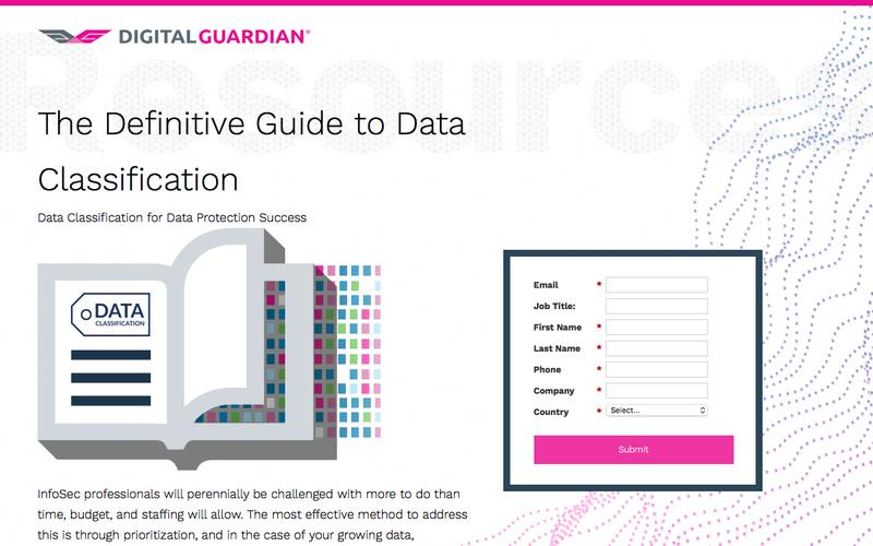 The Definitive Guide to Data Classification