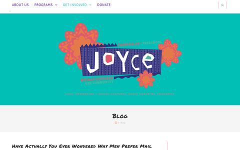 Screenshot of Blog joycepreschool.org - Blog – Joyce Preschool - captured Sept. 20, 2018