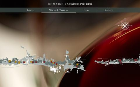 Screenshot of Maps & Directions Page prieur.com - Map - Jacques Prieur - captured Oct. 9, 2018