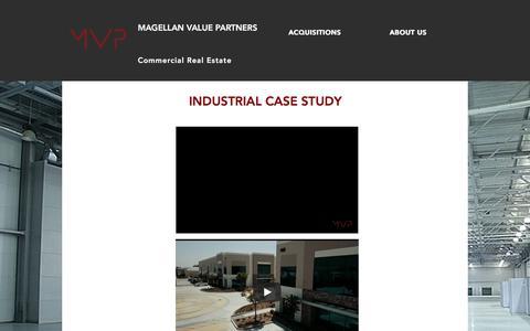 Screenshot of Case Studies Page magellanvp.com - Case-studies   California   Magellan Value Partners - captured Sept. 26, 2017