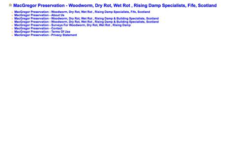 Screenshot of Site Map Page mcpres.co.uk - Sitemap - captured Oct. 3, 2014