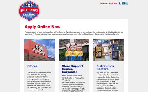 Home Page - Pep Boys Careers