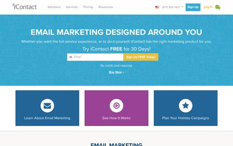 iContact - Affordable Email Marketing Solution