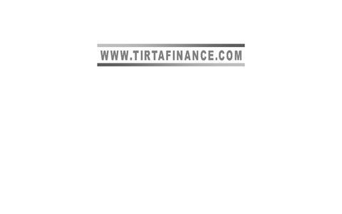 Screenshot of Home Page tirtafinance.com captured Oct. 1, 2014