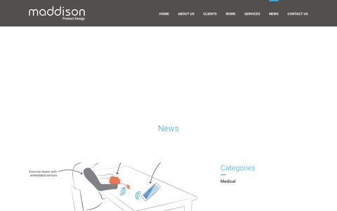 Screenshot of Press Page maddison.co.uk - News - Maddison - captured Feb. 4, 2016