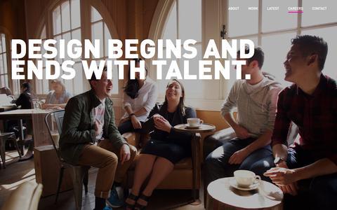Screenshot of Jobs Page teague.com - Careers - TEAGUE - captured Aug. 17, 2016