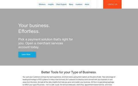 Credit Card Processing & Payment Solutions for Merchants | First Data