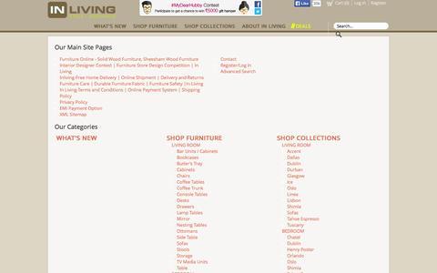 Screenshot of Site Map Page inliving.com - Sitemap - captured Sept. 24, 2014