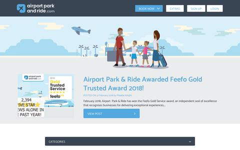 Screenshot of Blog airportparkandride.com - Blog - the best travel tips, travel guides and news   Airport Park and Ride - captured July 29, 2018