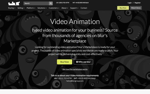Animation Production Services | blur Group