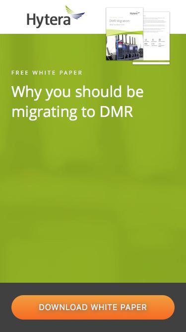 DMR Migration | Hytera Life