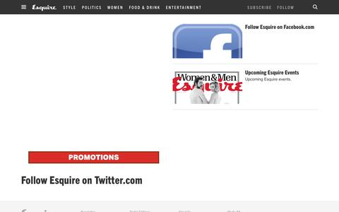 Promotions - Esquire