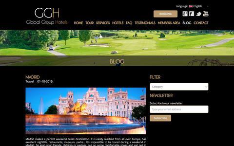 Screenshot of Blog globalgrouphotels.com - Blog - Global Group Hotels - captured Dec. 10, 2015