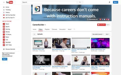 CareerBuilder  - YouTube