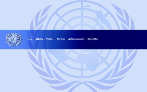 Screenshot of Home Page un.org - Welcome to the United Nations: It's Your World - captured Sept. 18, 2014