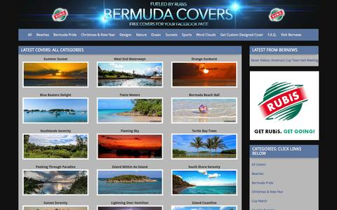 Screenshot of Home Page bermudacovers.com - BermudaCovers.com -BermudaCovers.com - captured Sept. 20, 2015