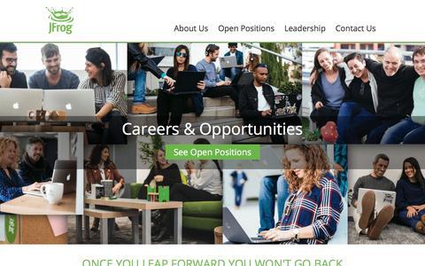 Join Us - Jobs, Careers & opportunities - JFrog