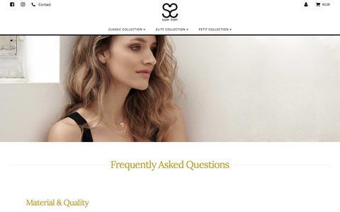 Screenshot of FAQ Page super-stylish.com - FAQ   Super Stylish - captured June 17, 2017