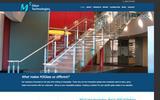 New Screenshot M3 Glass Technologies Home Page